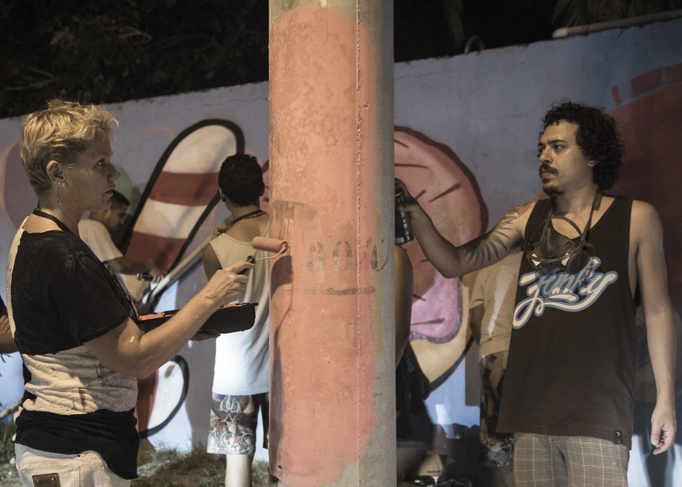 Bobi com Xuxa na assistência. Foto Bruca Muniz (clique para aumentar).