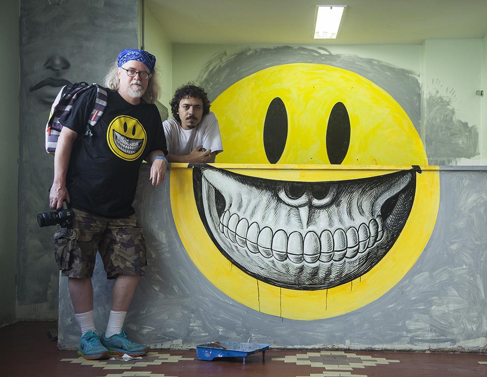 Ron, Bobi e Smiley grin finalizado (clique para aumentar)