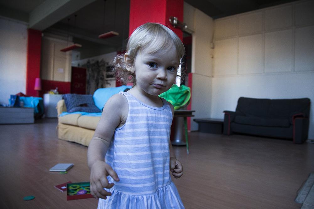 Matilda também gostou da nossa residência.