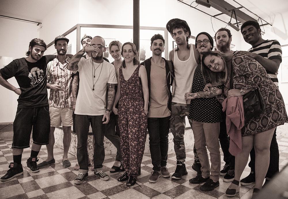 Novecinco, Giv Lowe, Ctrl+Alt+Rua, 8DIX, todo mundo juntão confeitando em Lisboa.