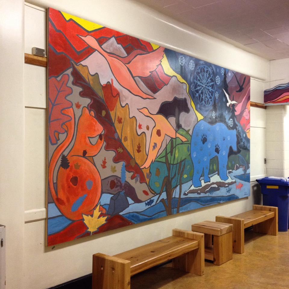 livingston school mural 3