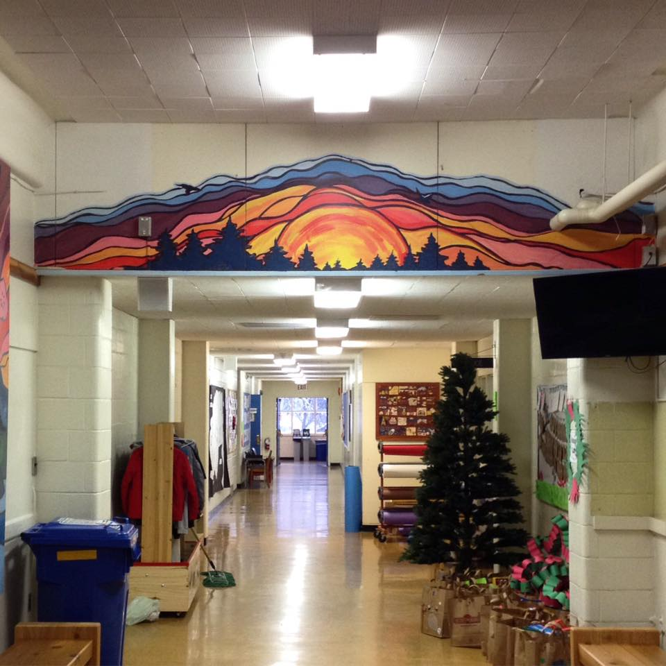 livingston school mural4