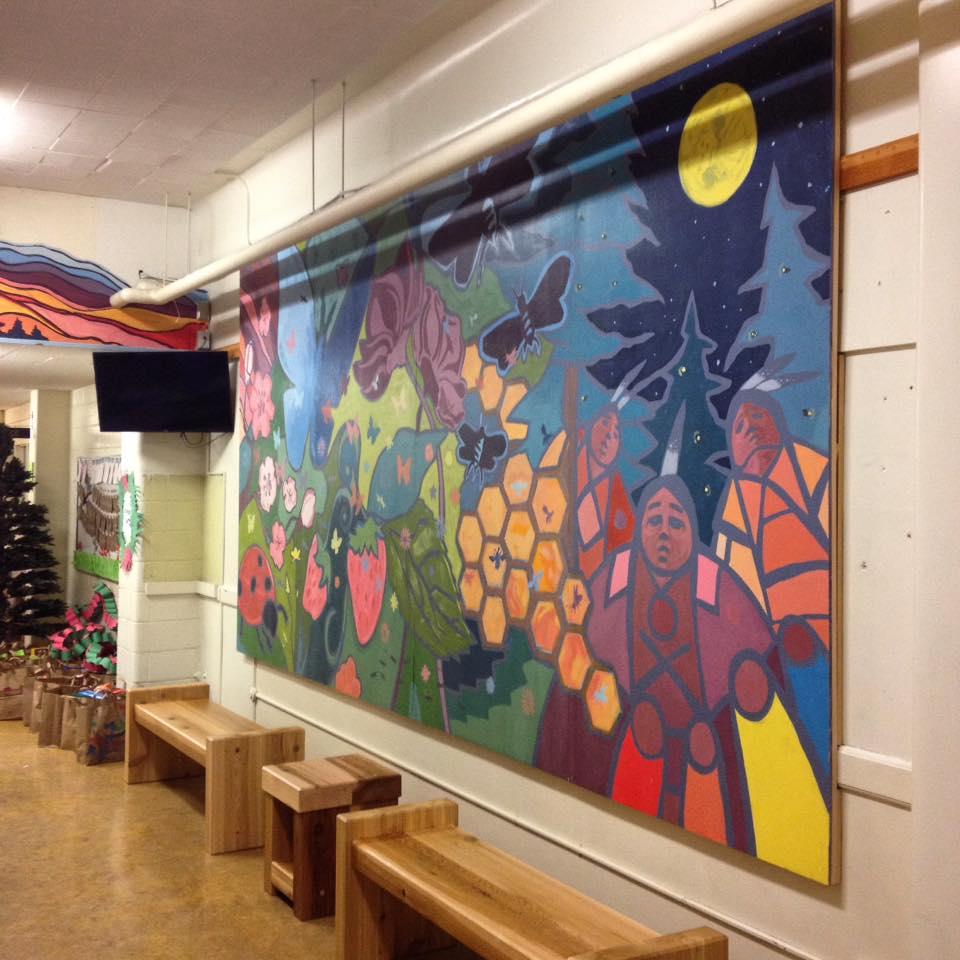 livingston school mural 4