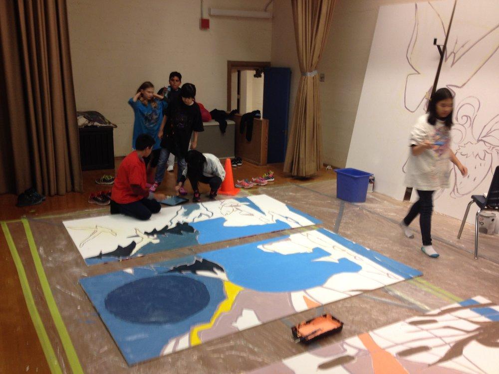 livingston school mural 7