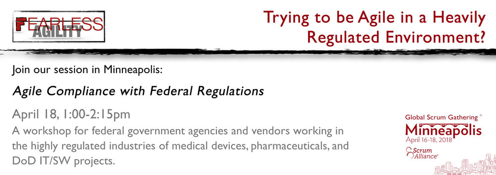 Agile Compliance in Regulated Industries