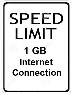 gigabit speed limit