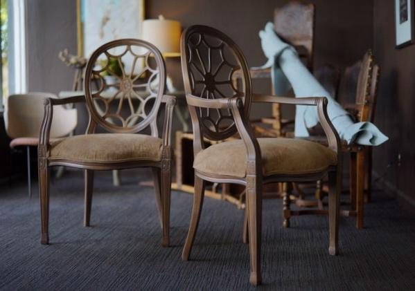 Charming Original Spider Back Chair