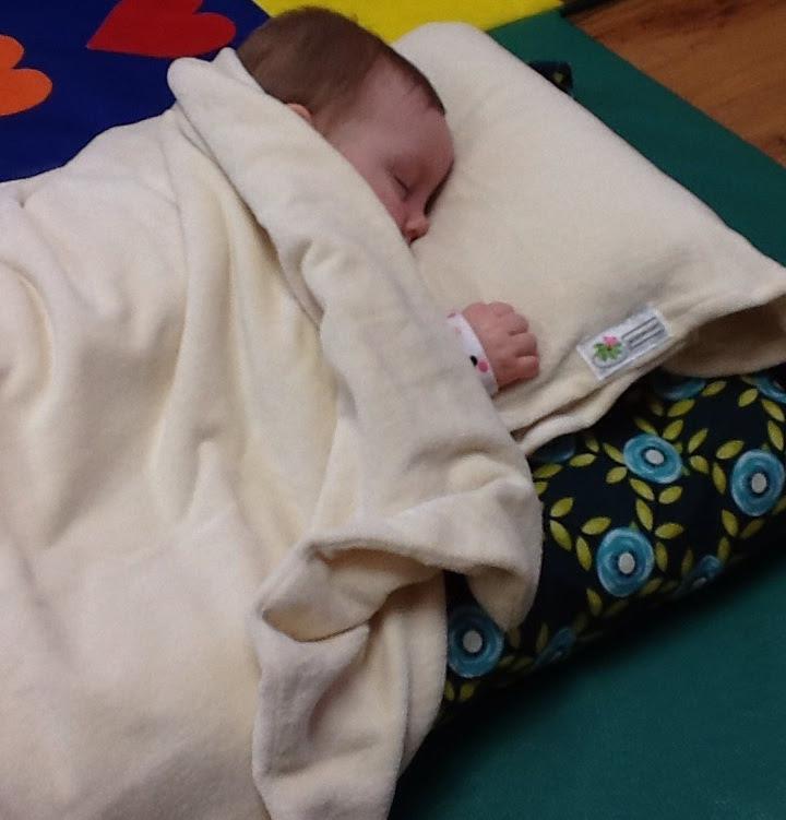 organic mat with baby julietta..jpg