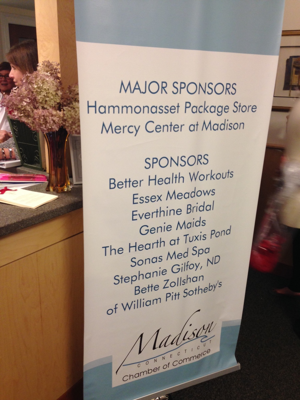 what a great event- Thanks Madison Chamber and sponsors!
