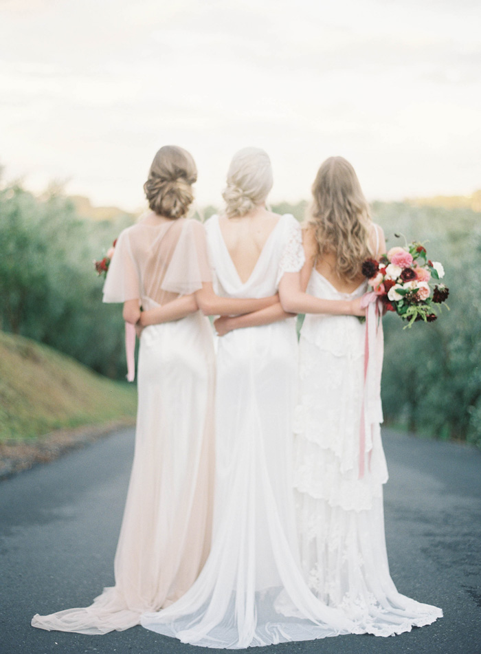Rue De Seine gowns image by Jen Huang via Grey Likes Weddings