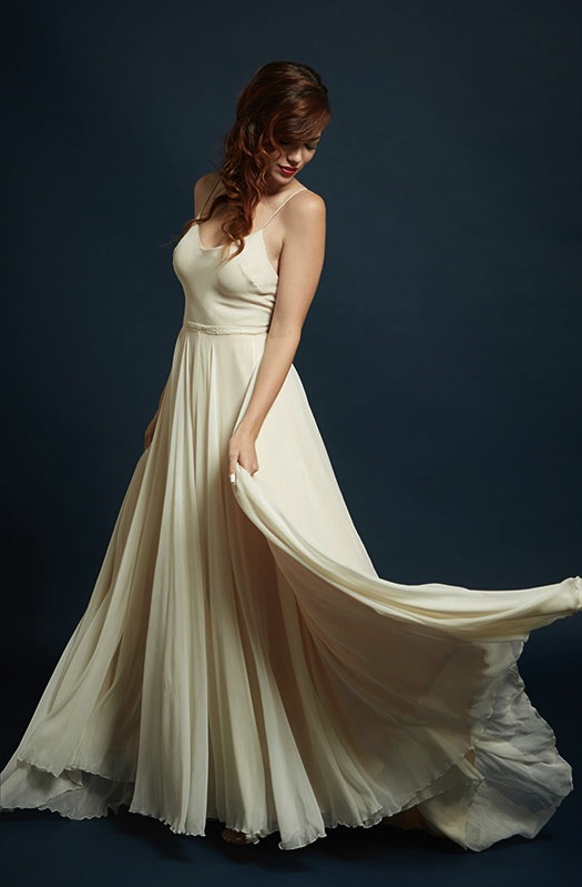 Vivian-Sage Gown