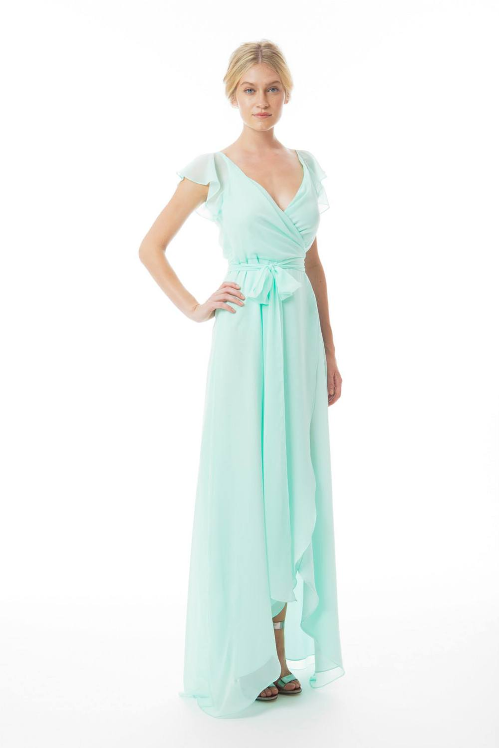 mint green bridesmaid dress joanna august ct