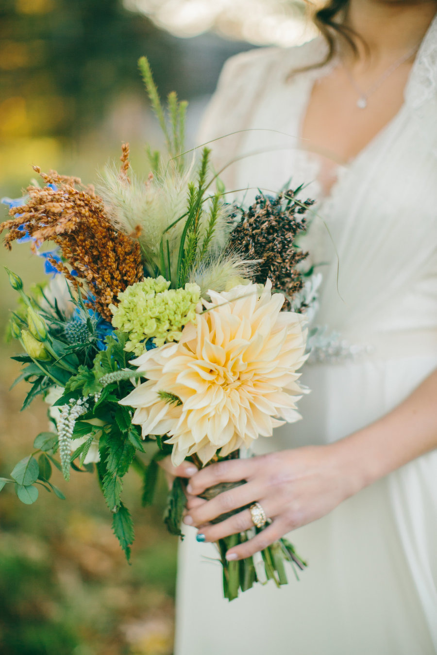 Aspen by Jenny Packham - image by  Emily Delamater Photography  via  SMP