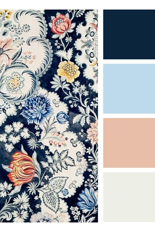 Textile design by  Anna Maria Garthwaite
