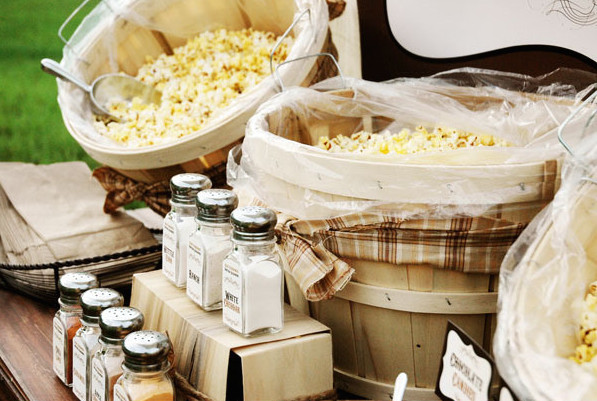 personalize your popcorn! photo via  happy chantilly