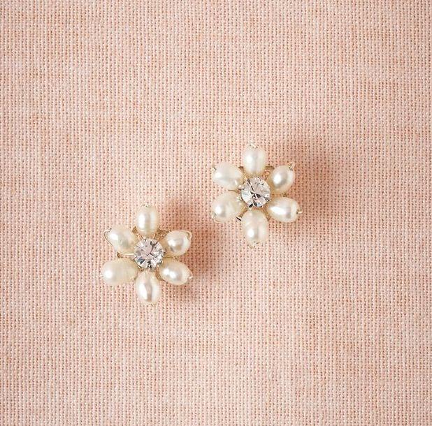 Earrings from: BHLDN