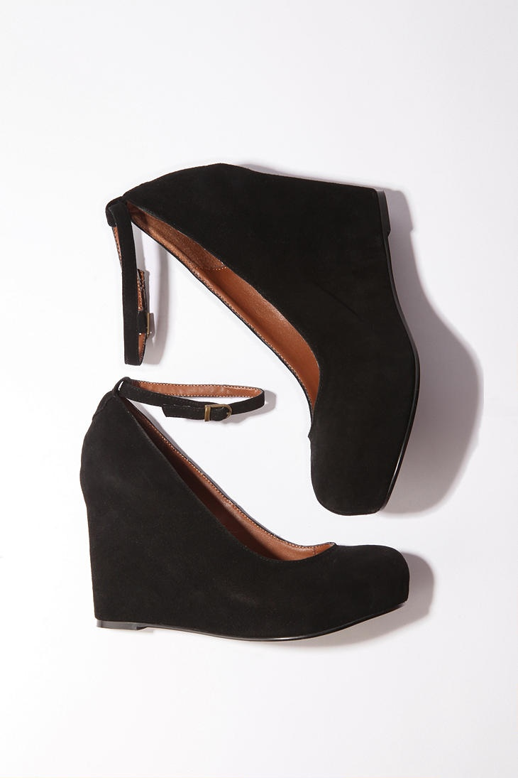 Jeffery Campbell Suede Adelaide Wedge from Urban Outfitter