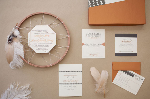 Invite by Cooper Willow via Bridal Musings