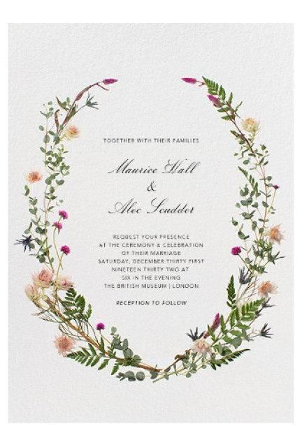 Invite by Paperless Post via Vogue