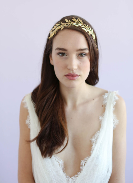 Leaf and Blossom Headband