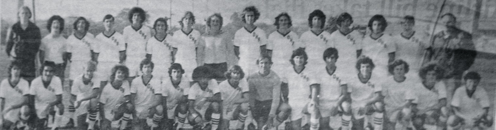 The 1973 Oceanside High School boys soccer team outscored its opponents 100-4 on its way to an 18-0 undefeated season and county and Long Island championships.  (Credit: Victoria Lodi/Herald)
