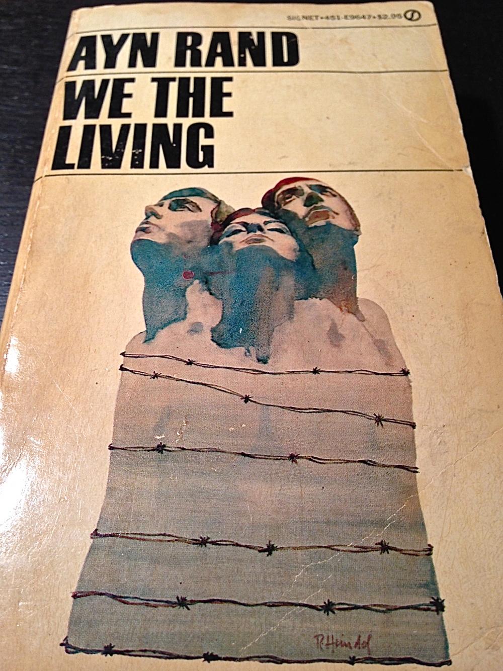 "Ayn Rand's first novel, ""We The Living,"" is set in Soviet Russia. (Photo: Joseph Kellard)"