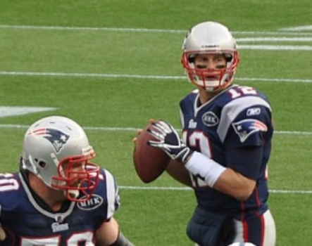 Tom Brady of the New England Patriots. (Credit: Wikicommons)