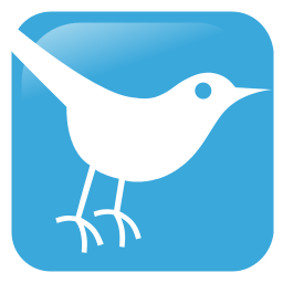 Twitter's blue bird icon. (Credit: Wikicommons).