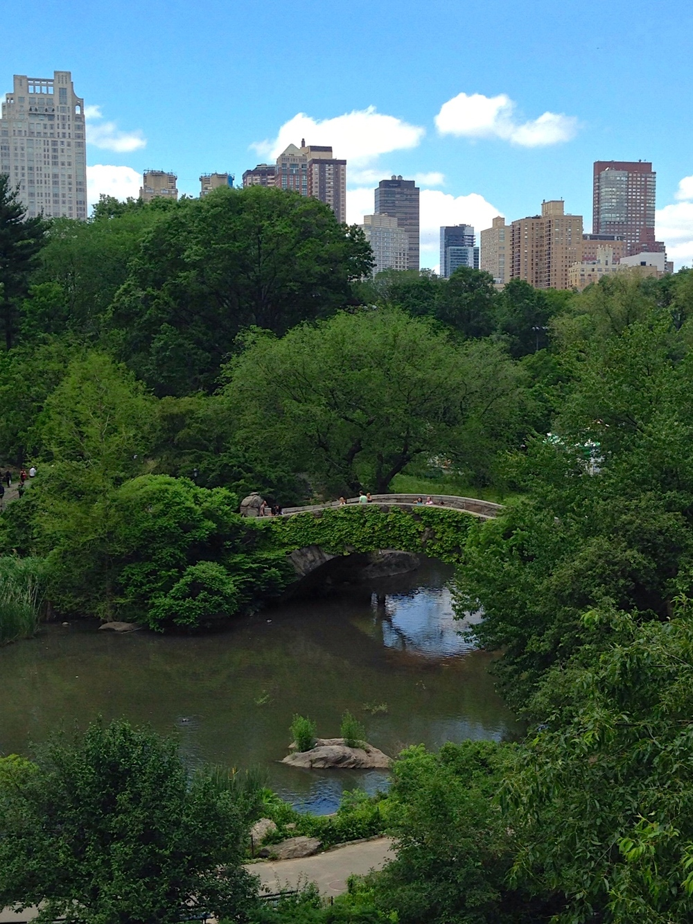 The Gapstow Bridge at Central Park South. (Photo: Joseph Kellard)