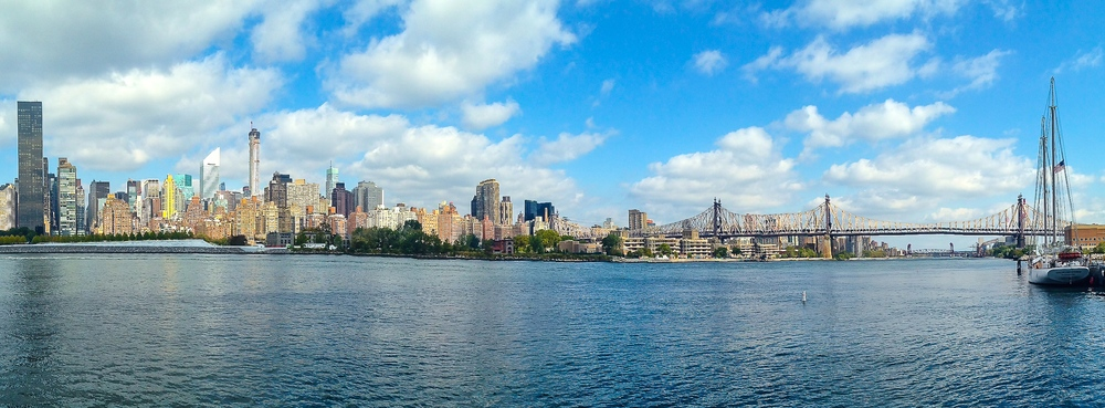 A vista of the the Midtown skyline and Queensboro Bridge as seen from Gantry Plaza State Park in Long Island City. (Photo: Joseph Kellard)