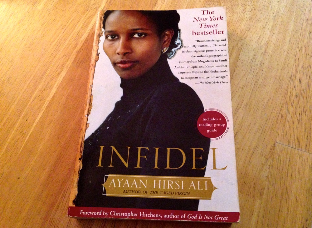 In her autobiography  Infidel , secular activist Ayaan Hirsi Ali writes about the life-saving impact Western novels had on her while growing up in Africa and Saudi Arabia. (Photo: Joseph Kellard)