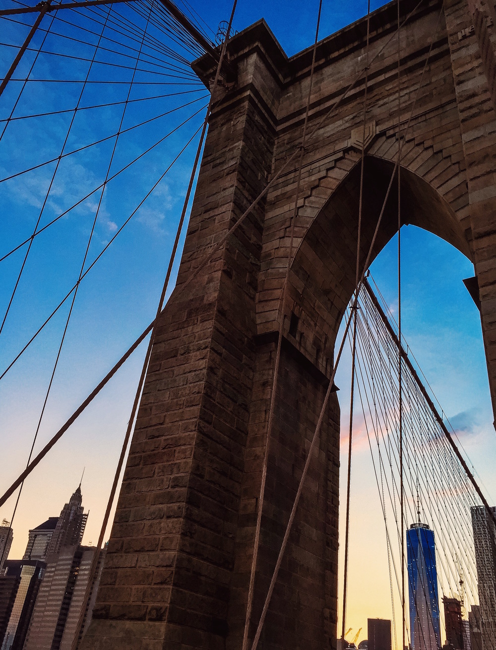 @ Brooklyn Bridge Arch.JPG