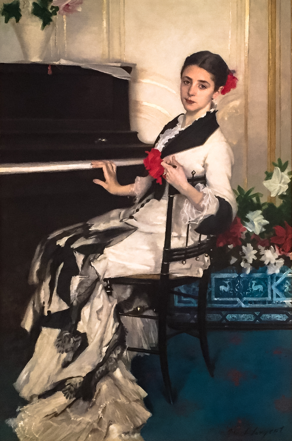 Madame Ramon Subercaseaux  (1880).