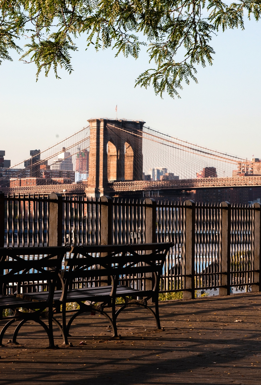 @ @ Brookly Heights Promenade and Brooklyn Bridge_Bench_© 2015 Joseph Kellard:Kellardmedia.com.jpg