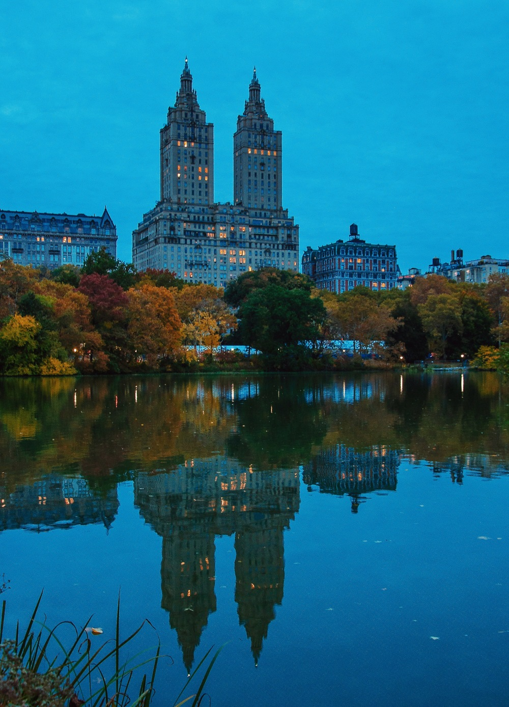 @ @ @ San Remo & Central Park_The Lake_reflection copy.JPG