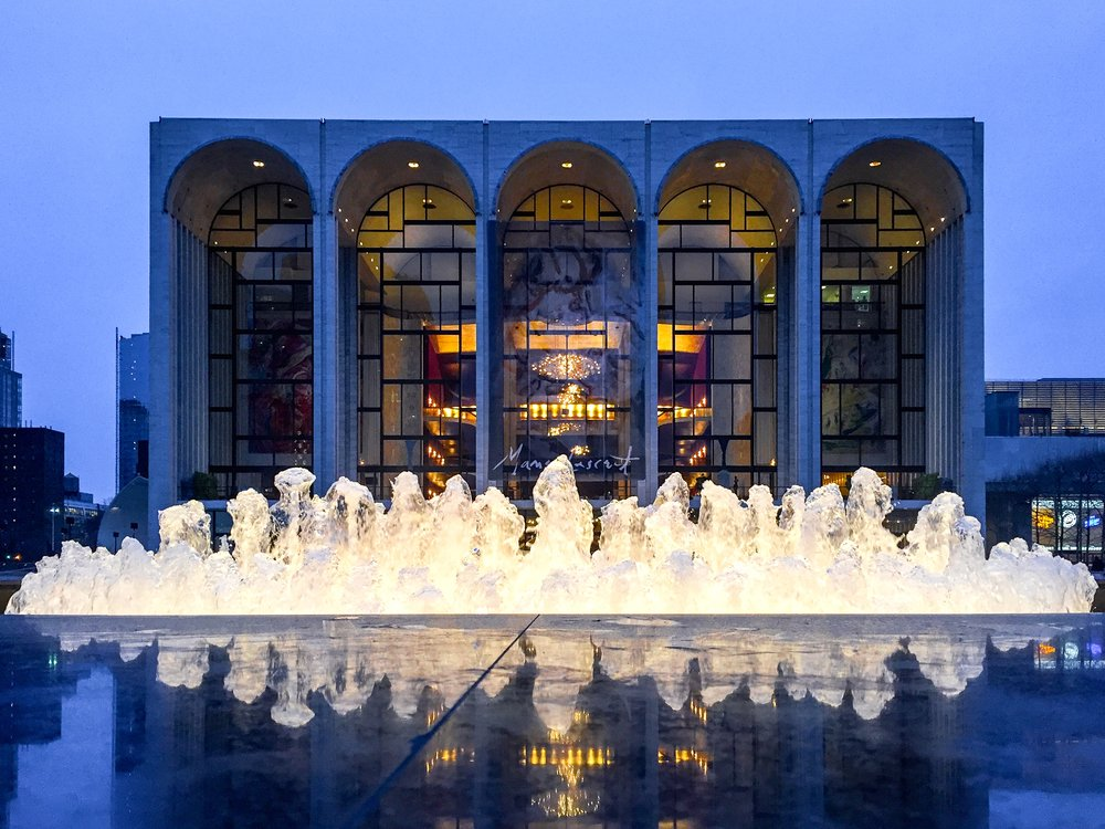 The Metropolitan Opera House at Lincoln Center held its first performance, Samuel Barber's  Antony and Cleopatra , on September 16, 1966. (Photo: Joseph Kellard)