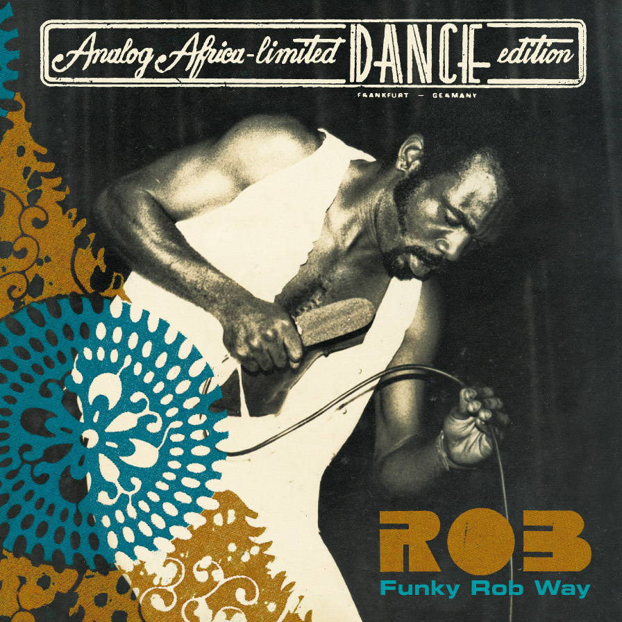 "Rob - Funky Rob Way  Release Date: June 7, 2011 Label: Analog Africa  SERVICE: Restoration, Mastering SOURCE MATERIAL: 1/4"" Tape NUMBER OF DISCS: 1 GENRE: Afro-Beat FORMAT: CD and LP"