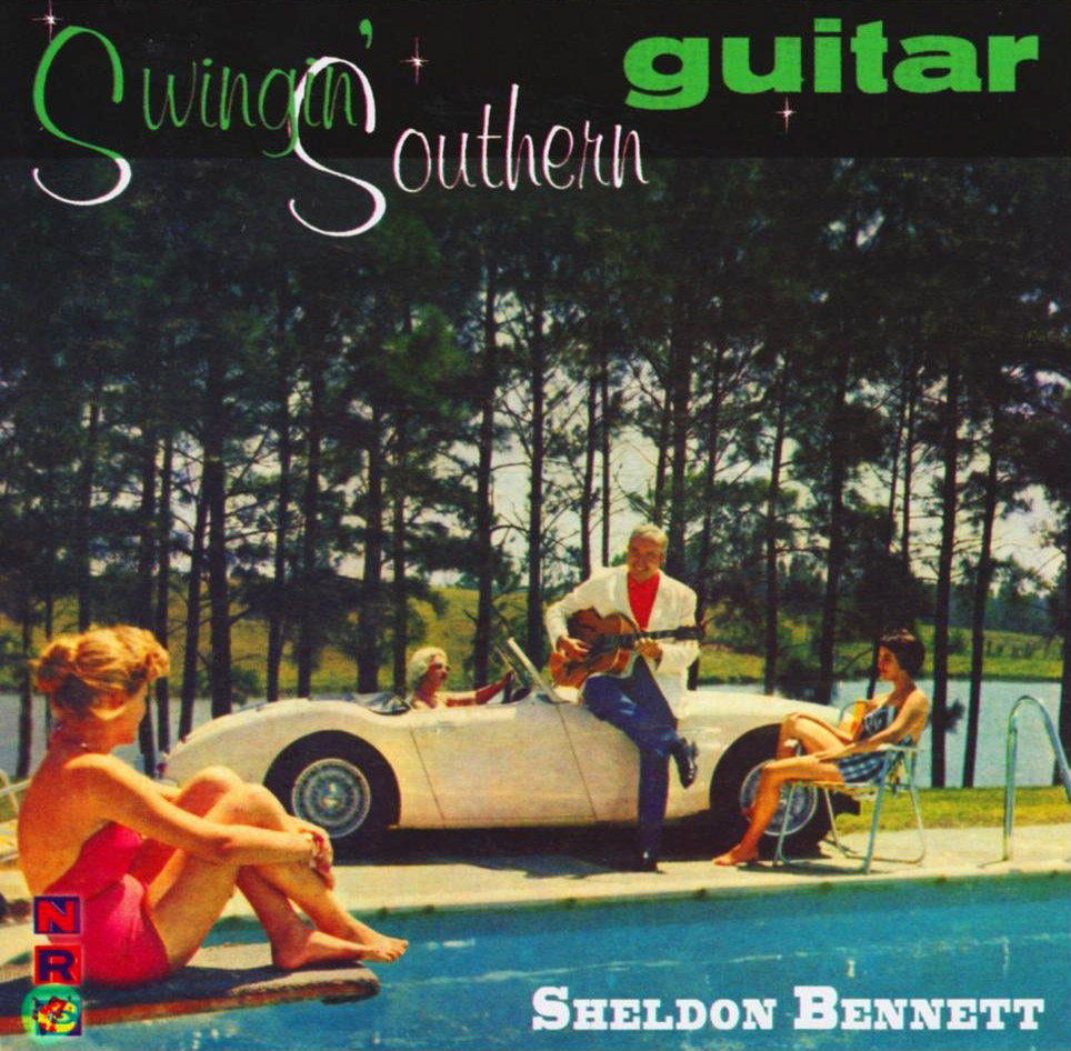 Sheldon Bennett - Swinging Southern Guitars  Release Date: June 20, 2005 Label: NRC  SERVICE: Transfer, Restoration, Mastering SOURCE MATERIAL: LP Record NUMBER OF DISCS: 1 ORIGINAL RELEASE DATE: 1959 GENRE: Jazz, Rockabilly FORMAT: CD