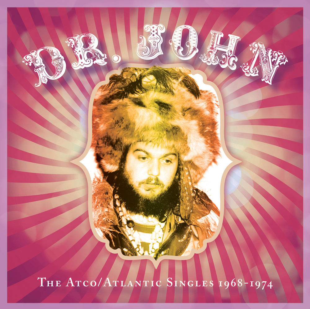 Dr. John - The Atco/Atlantic Singles 1968–1974  Release Date: September 18, 2015 Label: Omnivore Recordings  SERVICE: Restoration, Mastering NUMBER OF DISCS: 1 GENRE: Rock FORMAT: CD