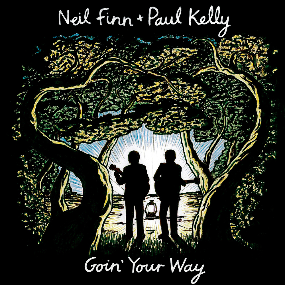 Neil Finn + Paul Kelly  -  Goin' Your Way  Release Date: December 11, 2015 Label: Omnivore Recordings  SERVICE: Mastering NUMBER OF DISCS: 1 GENRE: Rock FORMAT: CD   TRAILER