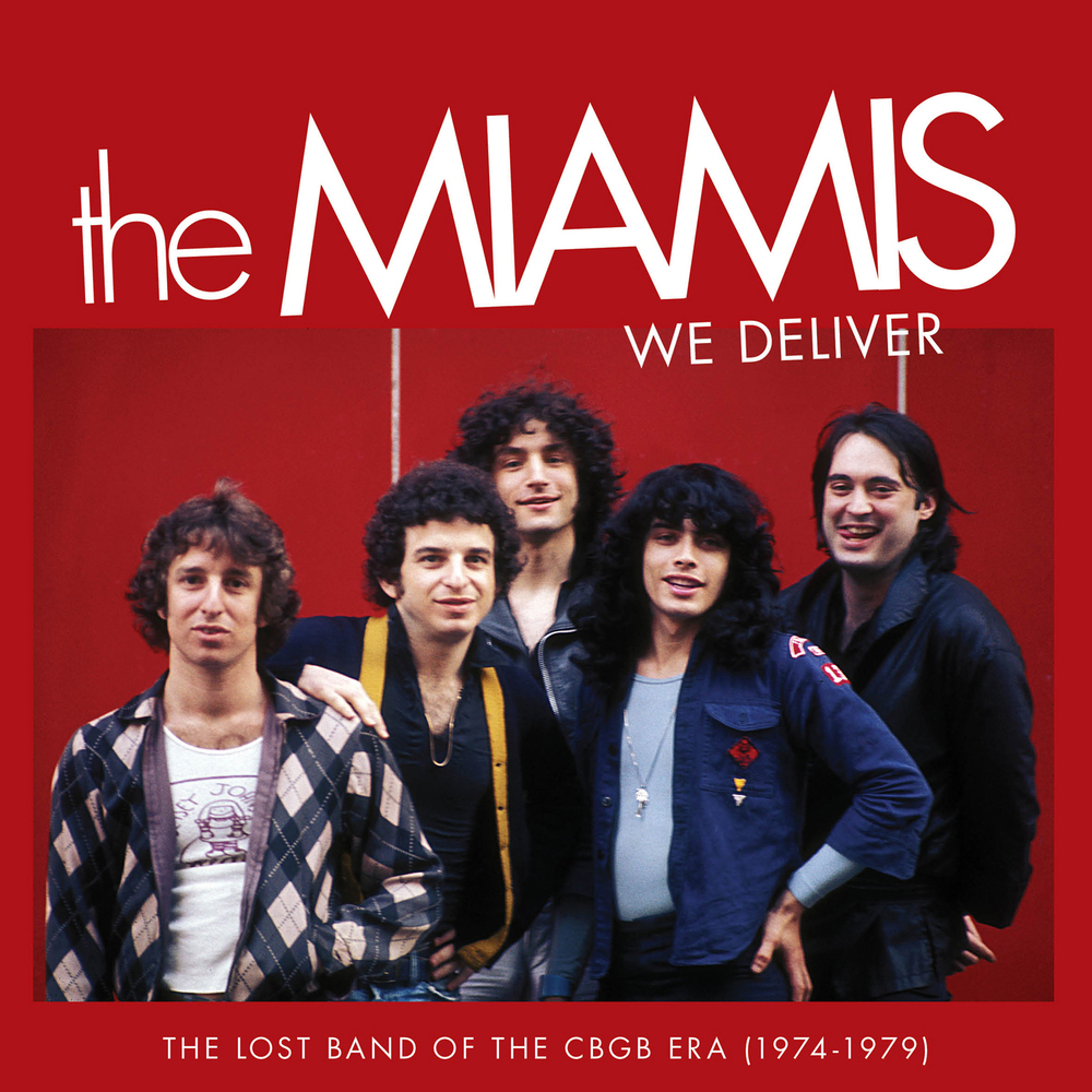 The Miamis - We Deliver  Release Date: January 29, 2016 Label: Omnivore Recordings  SERVICE: Mastering NUMBER OF DISCS: 1 GENRE: Rock FORMAT: CD   TRAILER