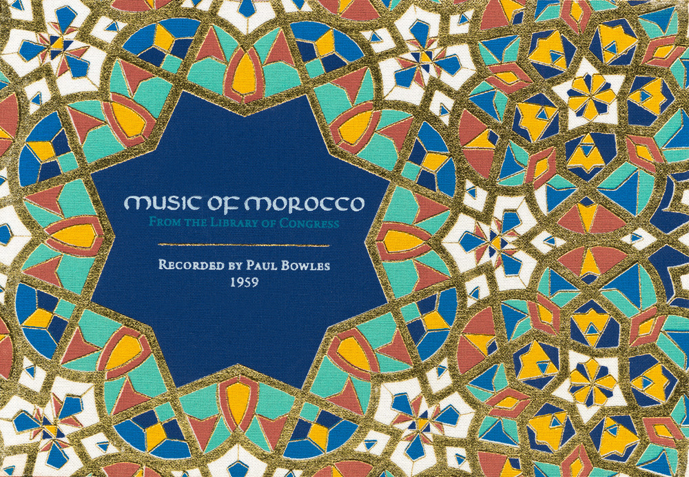"Music of Morocco: Recorded by Paul Bowles  Release Date: April 1, 2016 Label: Dust-to-Digital  SERVICE: Restoration, Mastering SOURCE MATERIAL: 1/4"" tape NUMBER OF DISCS: 4 GENRE: Moroccan FORMAT: CD"