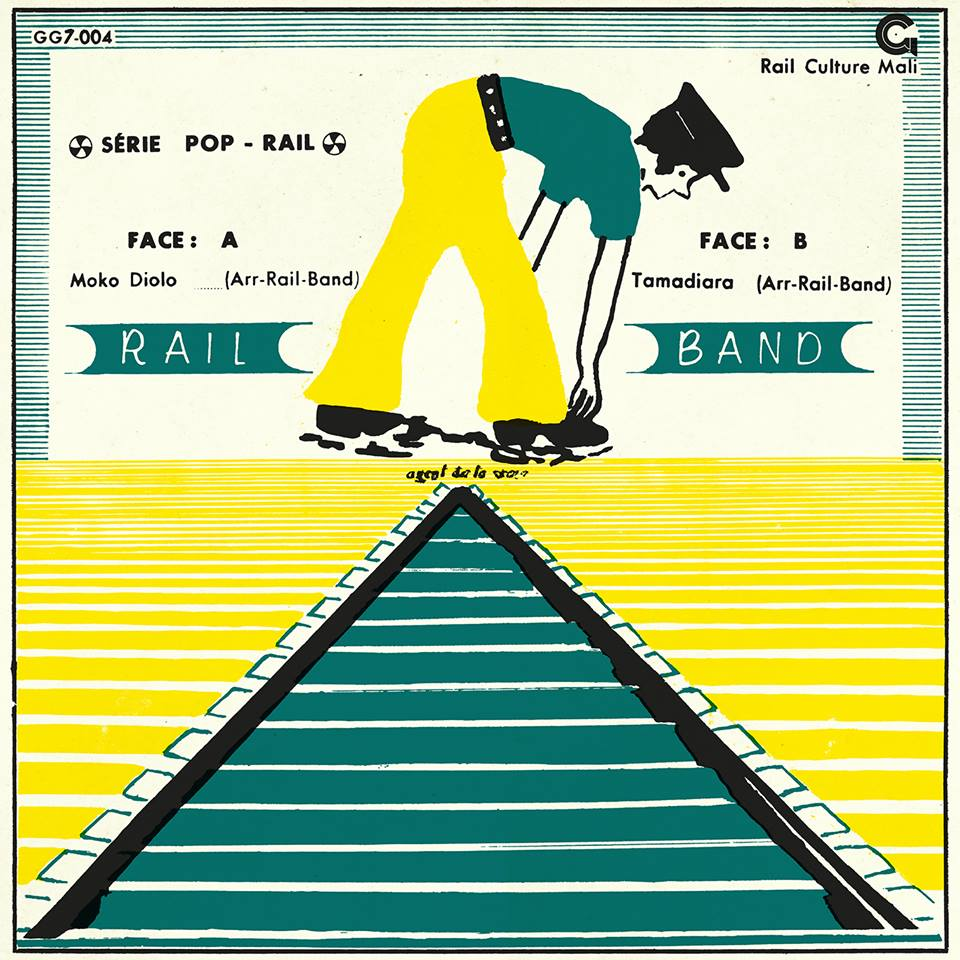 "Orchestre Rail Band -Moko Diolo/Tama Diyara Mali Deun La  Release Date: April 25, 2016 Label: Goma-Gringa  SERVICE: Restoration, Mastering SOURCE MATERIAL: Vinyl Record NUMBER OF DISCS: 1 GENRE: Arfican Funk FORMAT: 7"""