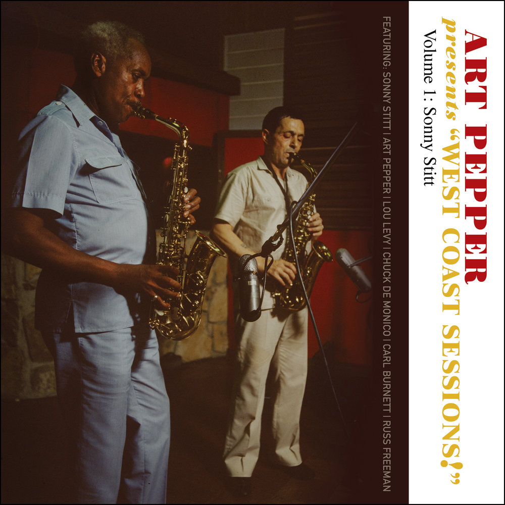 "Art Pepper -   Art Pepper Presents ""West Coast Sessions!"" Volume 1: Sonny Stitt  Release Date: February 3, 2017 Label: Omnivore Recordings  SERVICE: Restoration, Mastering NUMBER OF DISCS: 2 GENRE: Jazz FORMAT: CD"