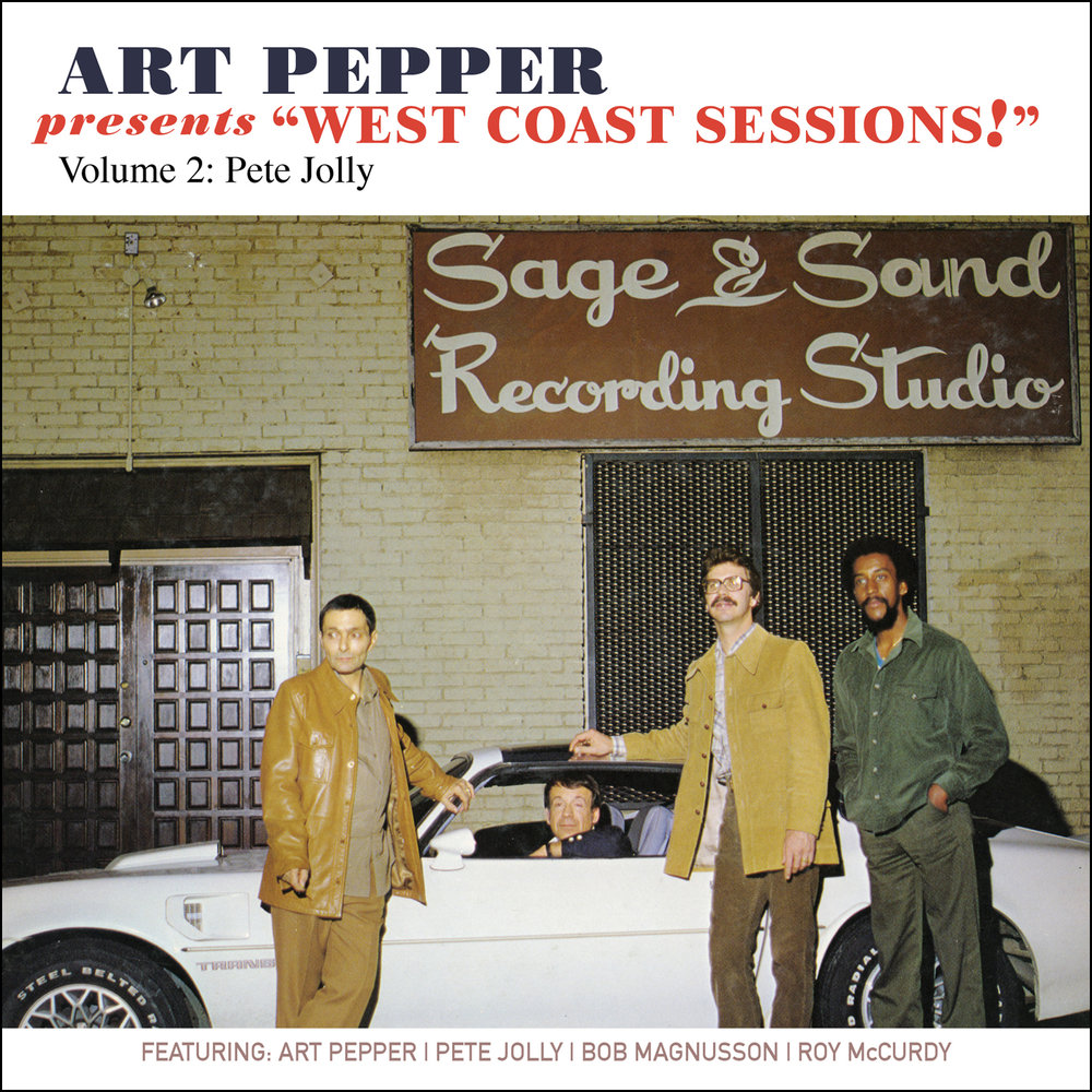 "Art Pepper - Art Pepper Presents ""West Coast Sessions!"" Volume 2: Pete Jolly  Release Date: February 3, 2017 Label: Omnivore Recordings  SERVICE: Restoration, Mastering NUMBER OF DISCS: 1 GENRE: Jazz FORMAT: CD"