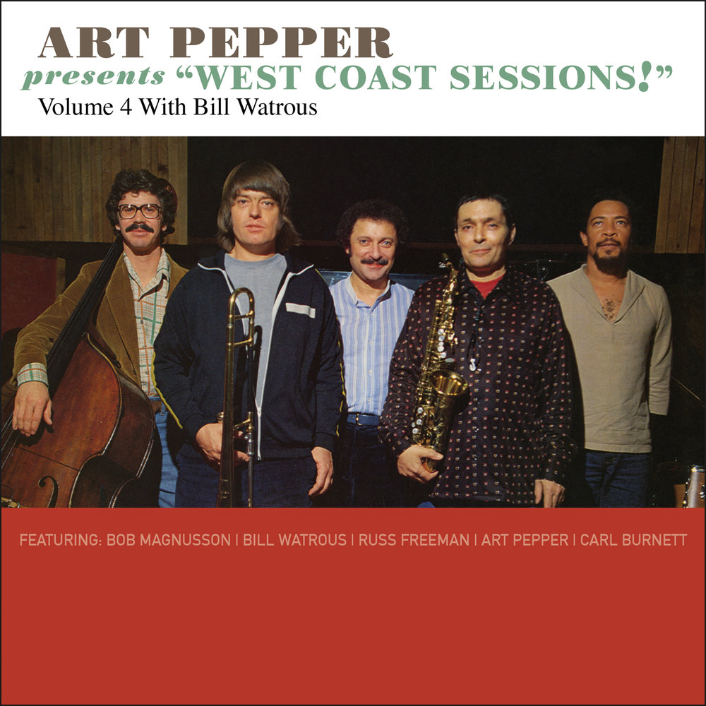 "Art Pepper -   Art Pepper Presents ""West Coast Sessions!"" Volume 4: Bill Watrous  Release Date: June 30, 2017 Label: Omnivore Recordings  SERVICE: Restoration, Mastering NUMBER OF DISCS: 1 GENRE: Jazz FORMAT: CD"