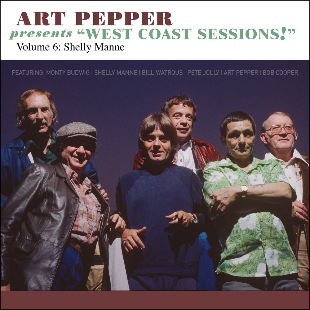 "Art Pepper -   Art Pepper Presents ""West Coast Sessions!"" Volume 6: Shelly Manne  Release Date: September 29, 2017 Label: Omnivore Recordings  SERVICE: Restoration, Mastering NUMBER OF DISCS: 1 GENRE: Jazz FORMAT: CD"