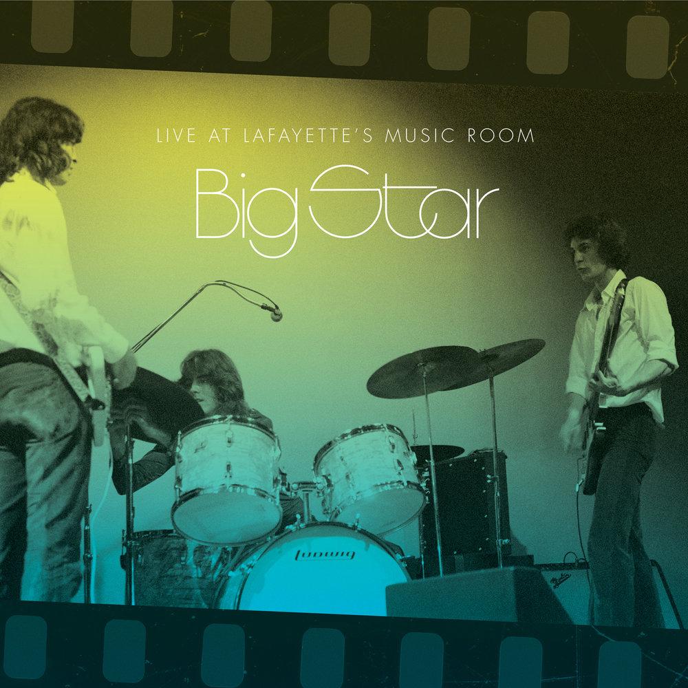 Big Star - Live At Lafayette's Music Room  Release Date: Jan 12, 2018 Label: Omnivore Recordings  SERVICE: Restoration, Mastering NUMBER OF DISCS: 1 GENRE: Rock FORMAT: CD, LP