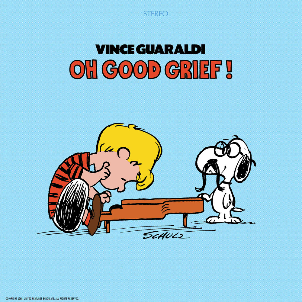 Vince Guaraldi - Oh, Good Grief!  Release Date: July 6, 2018 Label: Omnivore Recordings  SERVICE: Mastering, Restoration NUMBER OF DISCS: 1 GENRE: Jazz FORMAT: LP