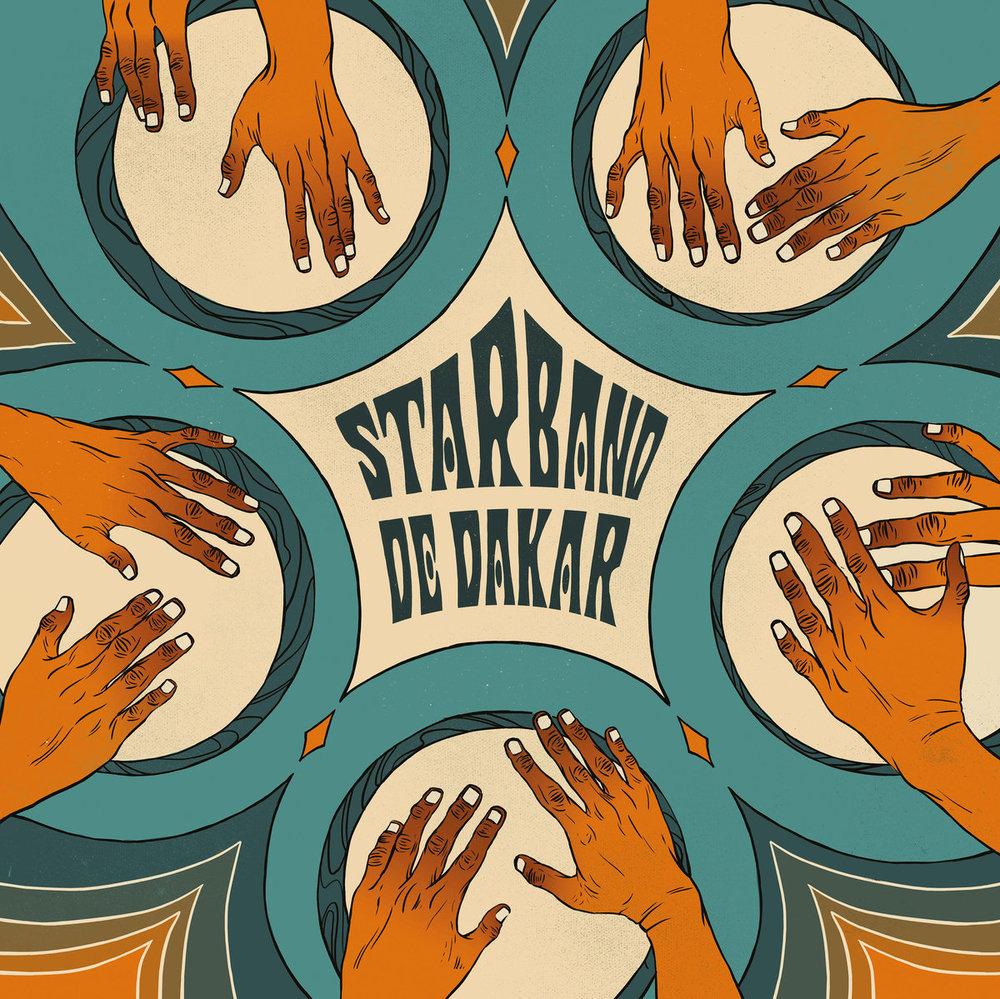 Star Band de Dakar - Psicodelia Afro-Cubana de Senegal  Release Date: February 22, 2019 Label: Ostinato Records  SERVICE: Mastering, Restoration NUMBER OF DISCS: 1 GENRE: Afro-Cuban FORMAT: CD, LP